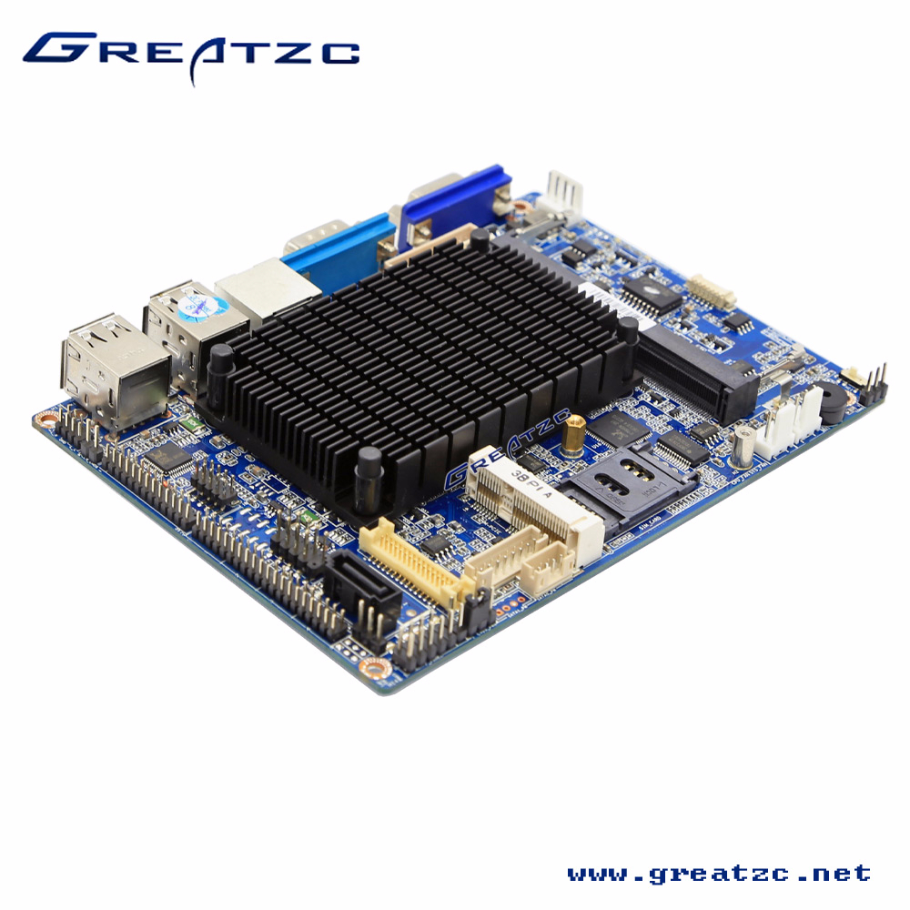 ZC35-N26SL ATOM Motherboard DDR3 667/800/1333MHz RAM Industrial Motherboard With LVDS