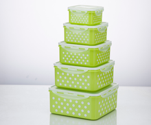 Wholesale sealed microwaveab clear hard pp plastic lunch box plastic food containers with lid