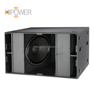 China Wholesale Pro Audio Sound Equipment Dual 18 inch Subwoofer Speaker,  RCF Speaker Box