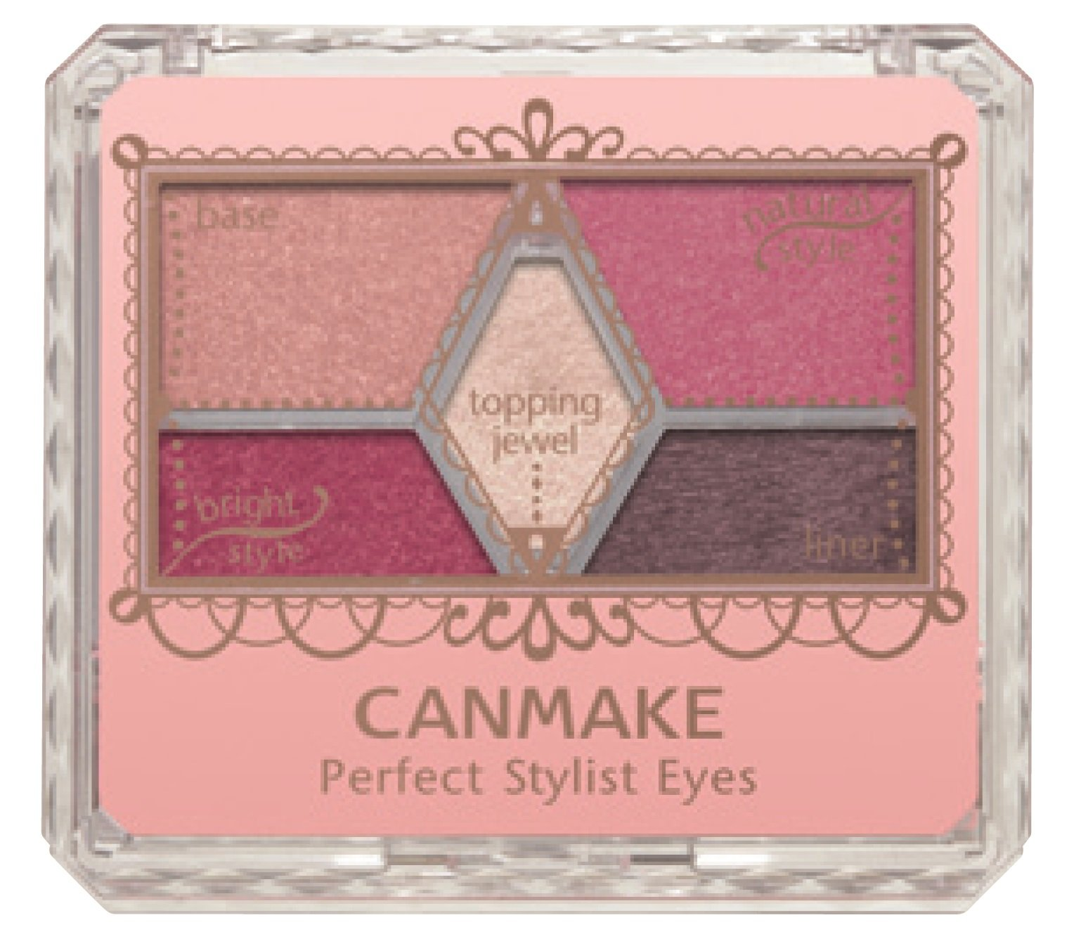 f3c4dcb130e Get Quotations · CANMAKE Perfect Stylist Eyes 14 Antique Ruby