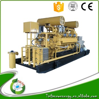 150kw Ac Electric Start Gas Turbine Generator