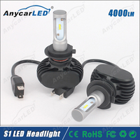 S1 H7 4000LM Auto motorcycle car LED headlight