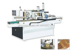 semi-automatic finger joint shaper with gluing MXB3515A