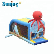 China suppliers custom design children games toys cheap price small octopus inflatable bouncer on sale