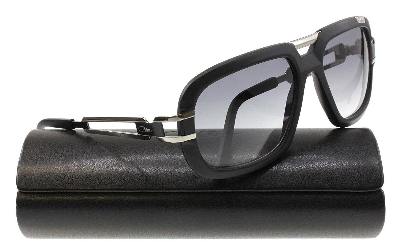 f2c65d63c5b Get Quotations · Cazal 8015 002 Silver Matte Black Gray Gradient Sunglasses  59 mm
