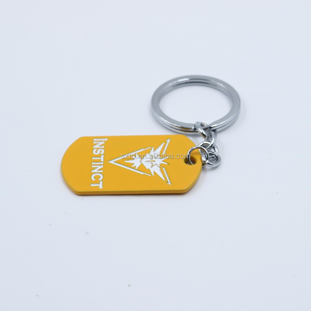 2018 newest handmade China personalized key ring free samples