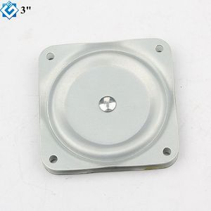 "furnitures house 3"" Solid Hole Durable Lazy Susan Bearing Rotating Swivel Turntable Plate Table"