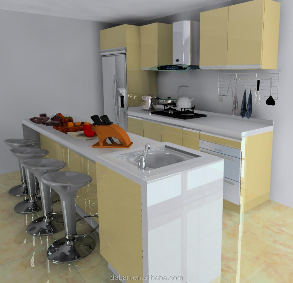 Gabinete De Cocina De Aluminio Tipo De Malasia Para Mueble De Cocina ...