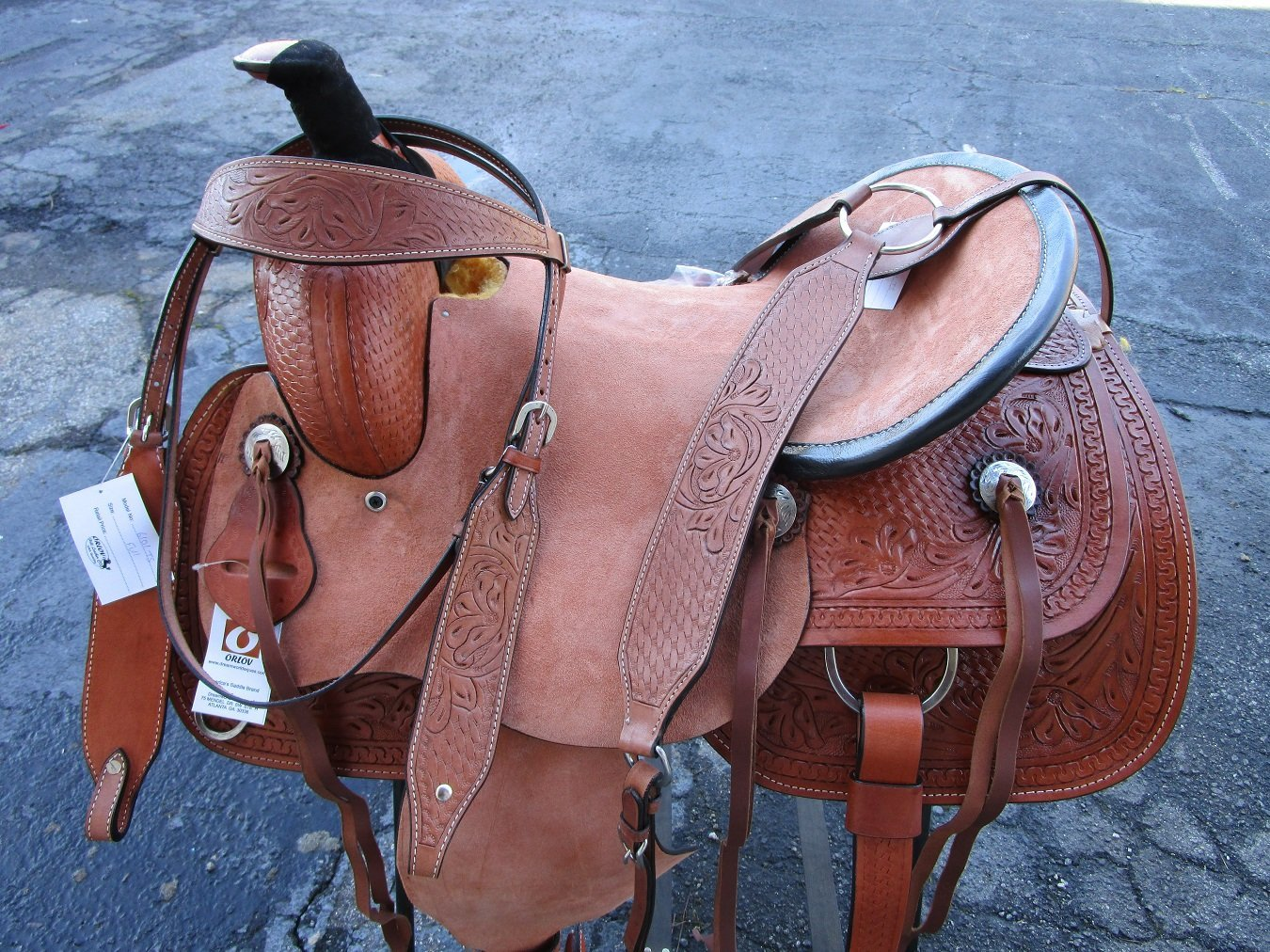 Buy 15 16 WESTERN ROPING RANCH ROPER WORKING COWBOY PLEASURE
