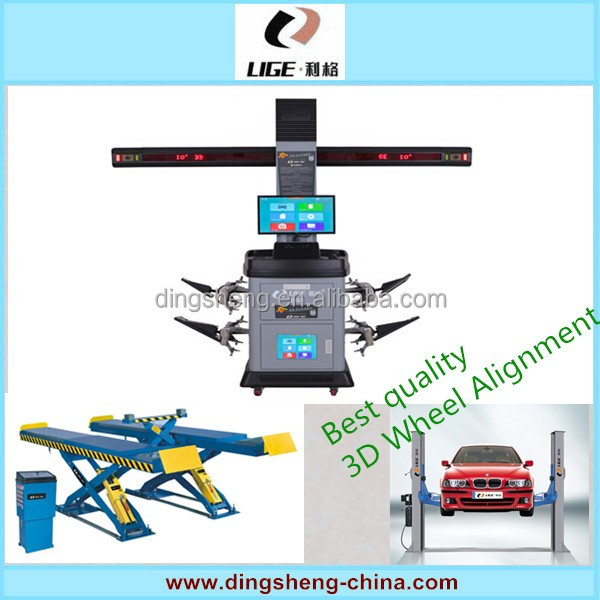 2016 new 3D wheel alignment dedicated automotive maintenance equipment Locator factory DS-1