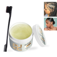 Hair Edge Control Free Sample Hair Gum Wax Private Label Brazilian Hair Pomade