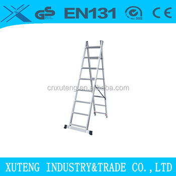 Aluminum 20 Step Ladder 16 2 Section