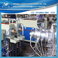 New design two pipe extrusion line for PP PE plastic pipe extruding machine