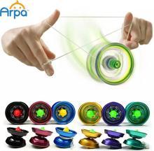 Arpa Alloy Cool Aluminum Design High Speed Professional YoYo Ball Bearing String Trick Yo-Yo Kids Magic Juggling Toy