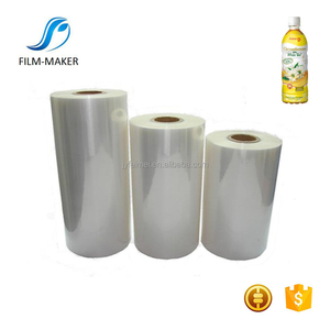 Most Popular Transparent PVC Film For Shrink Sleeve Label Application