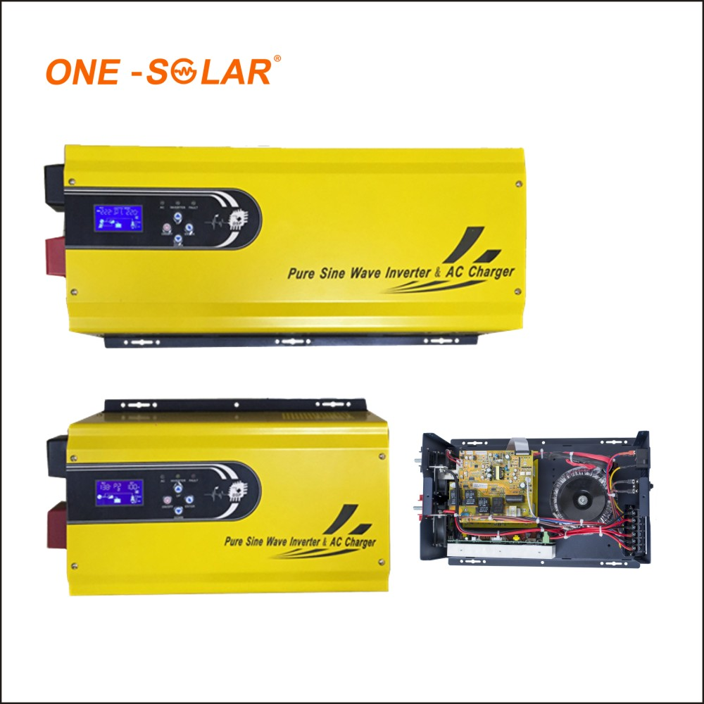 Yellow 1000w Dc Ac Pure Sine Wave Power Inverter Circuit For Solar To 12v Circuits Further System Buy Circuitwind Hybrid