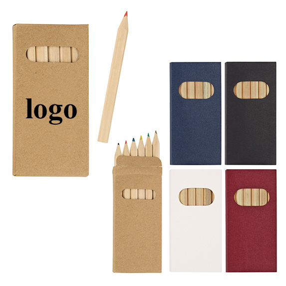 OEMPROMO promotional custom pencil set color pencil
