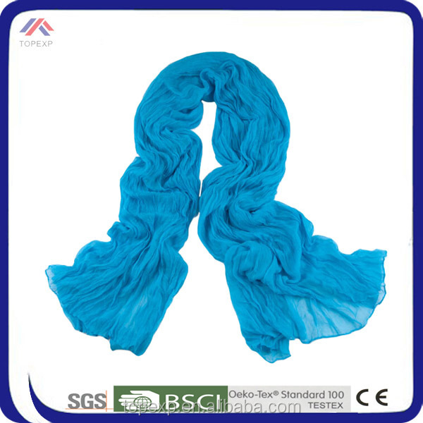 Solid Color Cheap Plain Cashmere scarf