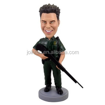 custom make plastic soldier bobblehead figures,customized design plastic soldier bobblehead toys