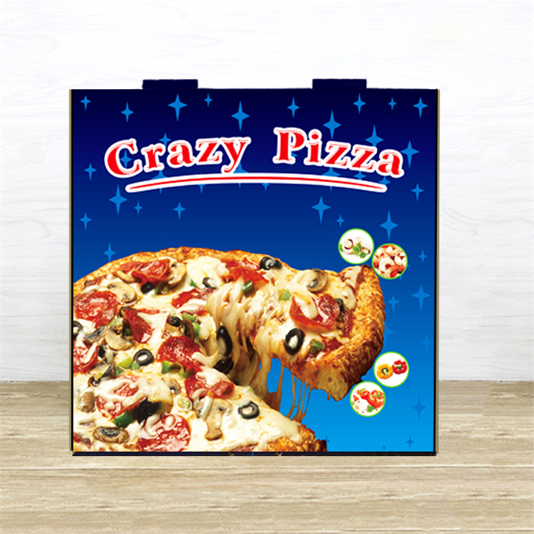 Customized size pizza thermal box for delivery