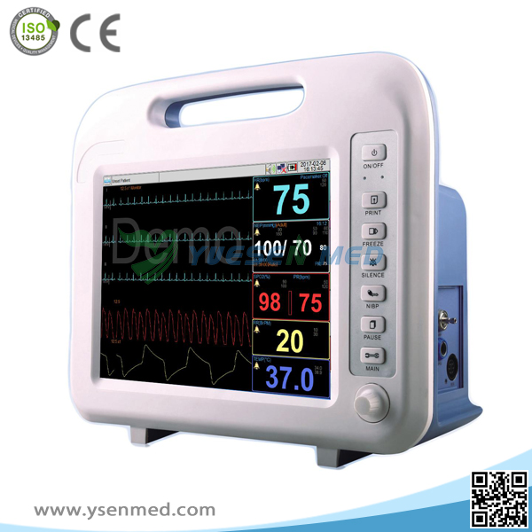 Medical Device Capnography Operation Ecg Patient Monitor
