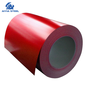 AIYIA China thickness 0.16-0.6 PPGI cold rolled steel sheet prices per ton / zinc color coated galvanized ppgi coil