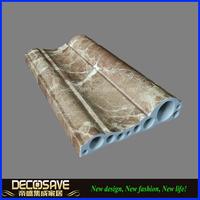 PVC Marble Stone Corner floor skirting