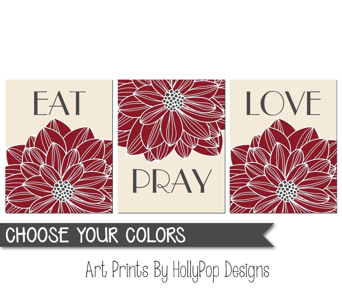 1879e20989c Get Quotations · Eat Pray Love wall art