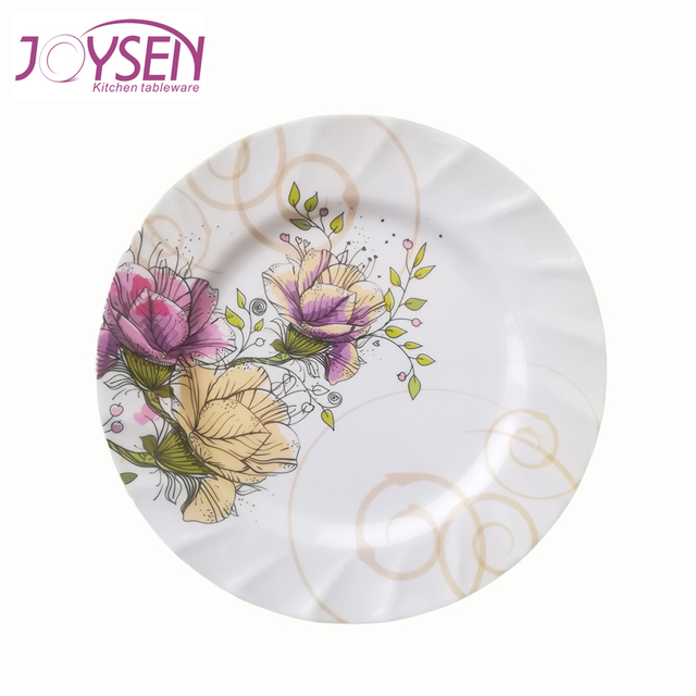 China factory supply unbreakable restaurant flower design white plastic plate  sc 1 st  Alibaba & Buy Cheap China designer white plastic plates Products Find China ...