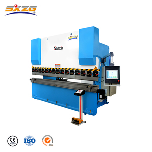 TP10 system cnc 6mm thickness 10 feet press brake machine, sheet metal cutting and bending machine