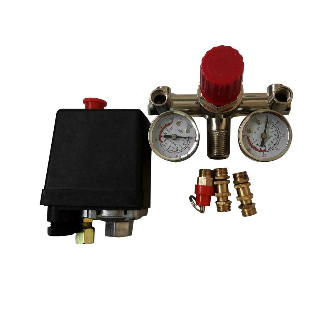 Bundle of six switches VXA7180-6 Vixen Horns 150-180 PSI Air Pressure Switch Tank Mount Type 1//4 NPT 12V//24V for Train//Air Horn
