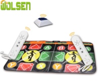 Dance Pad Non-Slip Wireless Dancer Blanket 32 Bit High Resolution Graphic WII & TV Double Dance Mat game dance pad