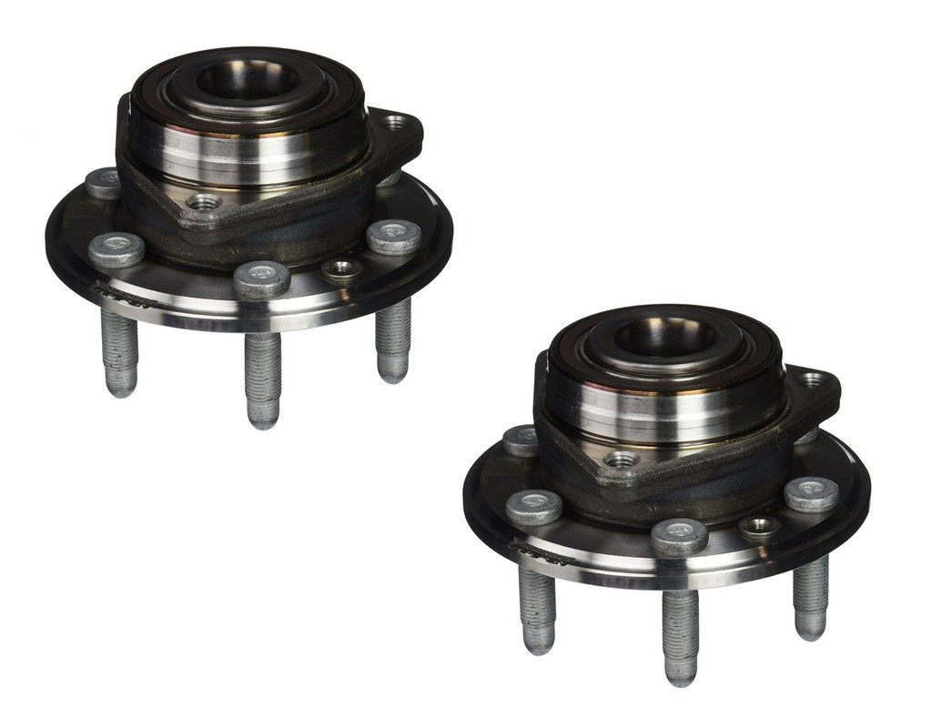 Detroit Axle - Both (2) New Front/Rear Driver & Passenger Side Complete Wheel Hub and Bearing Assembly 10-16 Cadillac SRX