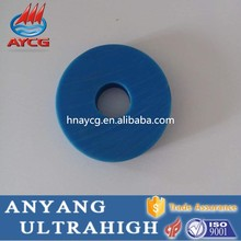 AYCG new anti-static uhmwpe round plastic nylon spacers