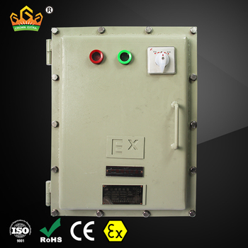Ex Proof 40 Amp Ac 2 Phase 10 Circuit Power Outside Waterproof Small on