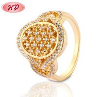 most trending products fashionable Factory direct sale women engagement ring gold