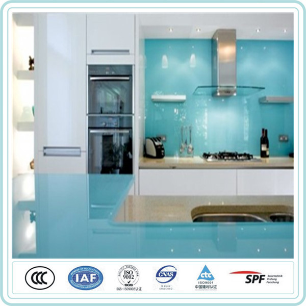 Home use high quality toughened lacquered glass