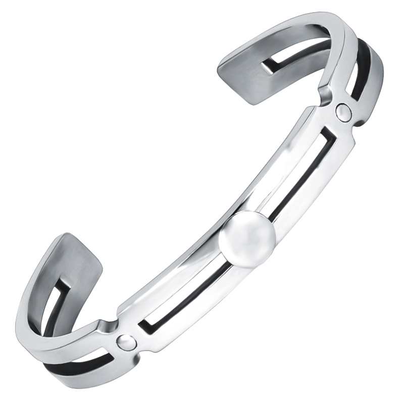 Wholesale High Quality Stainless Steel Man Cuff Bangle