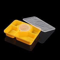 2018 new Airtight Fast Microwave Pp Plastic Disposable Food Container