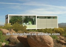 Hot!!!Advanced eco friendly energy-saving modern design integrated container house/modular homes prefab house(Manufacturer)