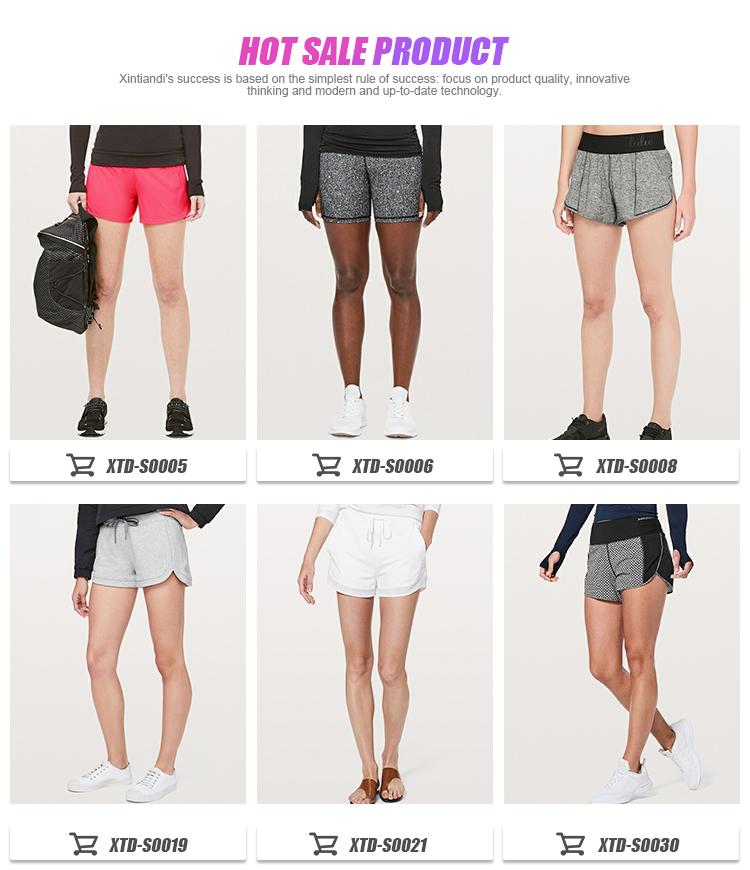 Laufen Fitness Workout Gym Sportswear Frauen Sport Shorts