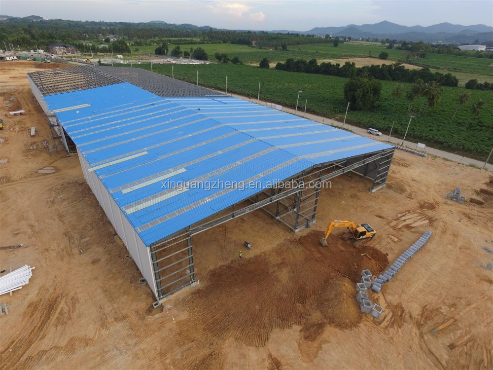 China manufacture steel prefabricated workshop for storage