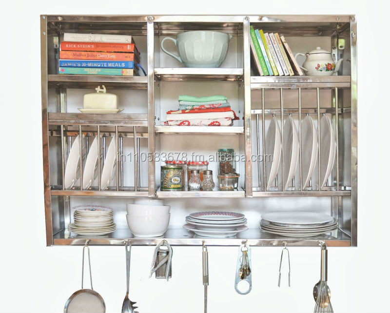 Huge Stainless Steel Kitchen Plate Rack
