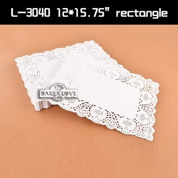 Rectangular lace paper plates/paper with lace pattern/white paper doily/bulk paper  sc 1 st  Wholesale Alibaba & Rectangular Lace Paper Plates/paper With Lace Pattern/white Paper ...