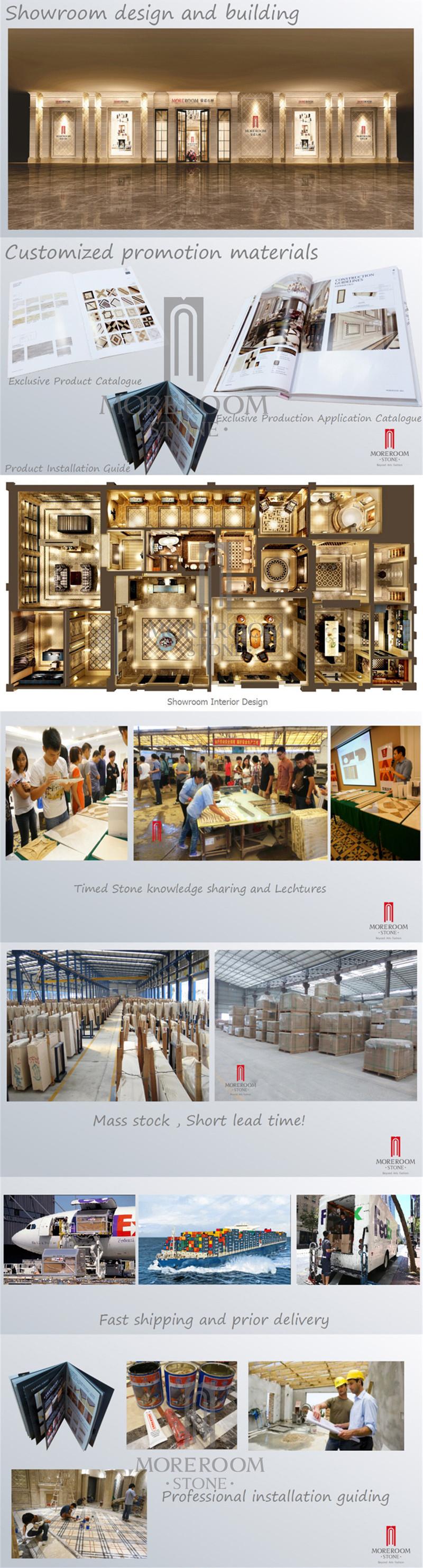 star hotel lobby design waterjet marble floor pattern in portugal