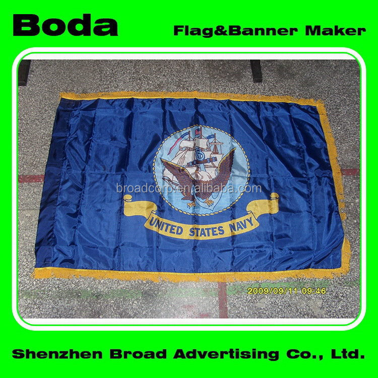 Good quality 68D polyester matrial 100d woven polyester mauritius flag