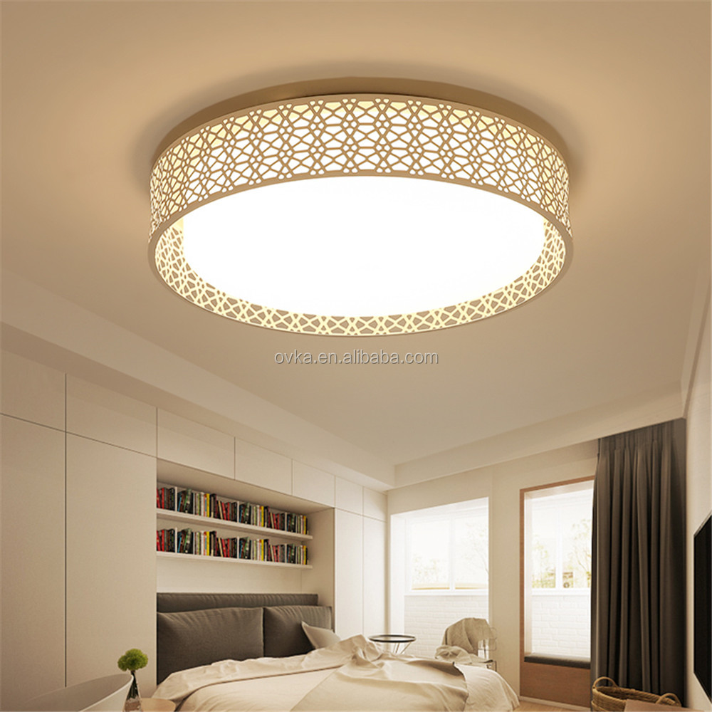 Round Simple Ceiling Lights Dimming
