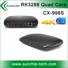 XBMC player TV BOX, download free mobile games support 4K display, RK3288 TV BOX