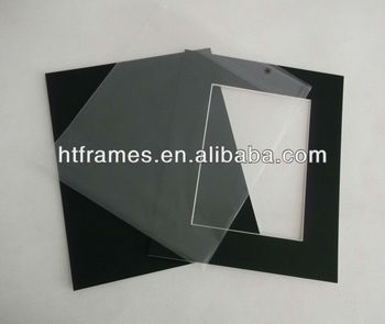 high quality acid free black mounting board and backing board with
