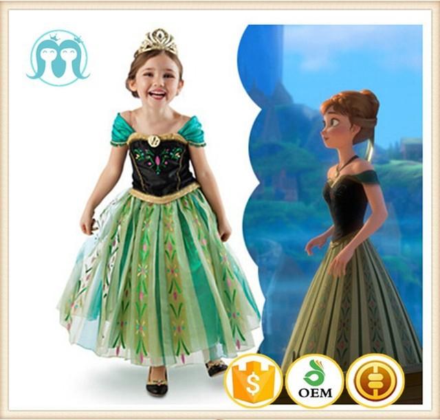 2015 elsa anna dondurulmus elbise dondurulmus anna elsa kostum dondurulmus prenses elsa kostum dondurulmus elbise kucuk kizlar icin buy kucuk kizlar